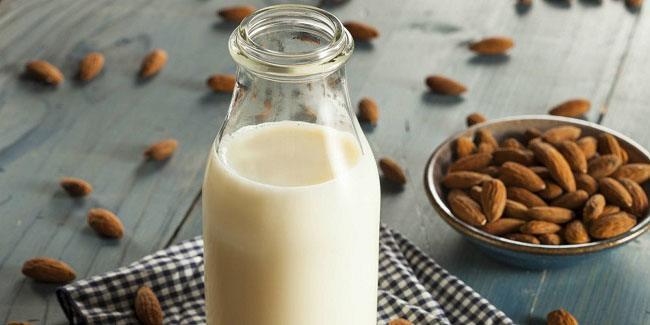 Almendras leche nutrición