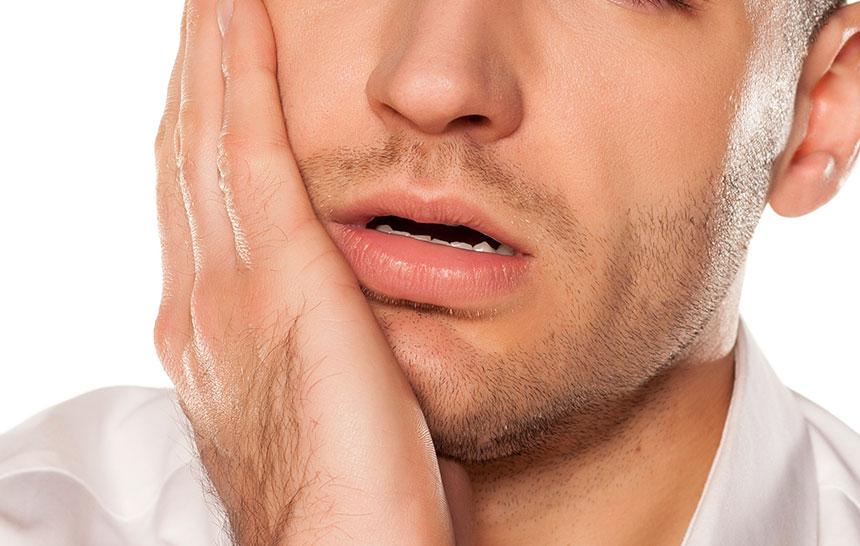 Causas y tratamiento del dolor en la mejilla derecha