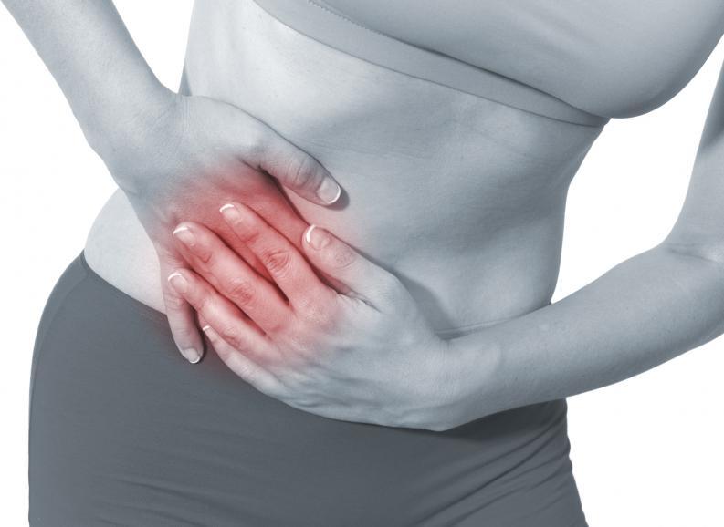 Dolor agudo en el abdomen izquierdo inferior en hombres y mujeres