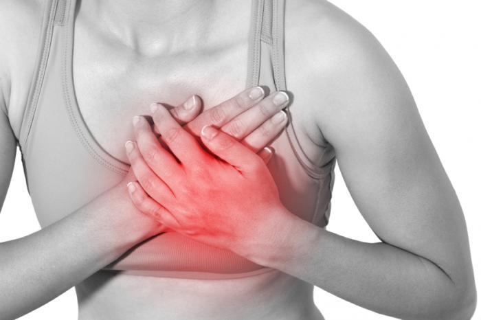 Qué causa el dolor entre los senos