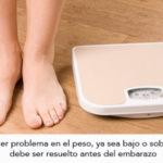 Planificador de dieta de pérdida de peso después del nacimiento