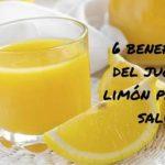 Beneficios del jugo de limón en los ojos