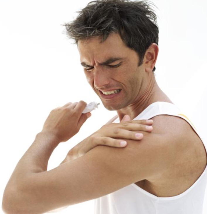 Dolor muscular superior