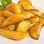 Tiene papa con gluten clásico batatas patatas fritas