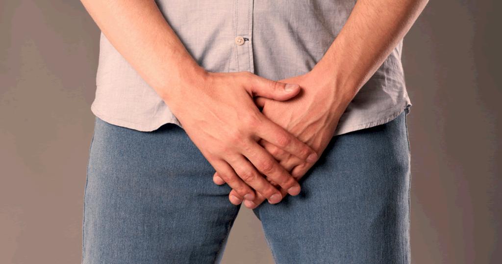 Herpes genital en la cabeza del pene