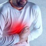 Dolor de estómago con ataque al corazón