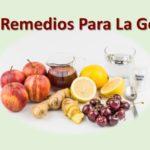 Remedios naturales para la gota