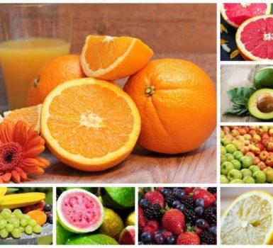 Lista de frutas altas en azúcar